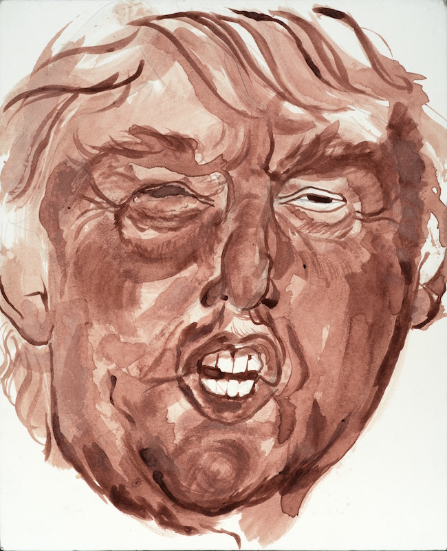 Credit:  Sarah Levy ,  Whatever (Bloody Trump),  2015