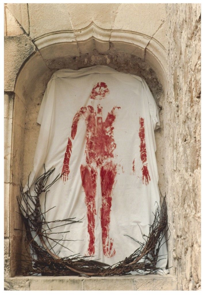 Credit: Ana Mendieta,  Silueta Series  (1973-1977),  MCA Chicago