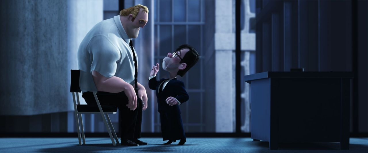 """""""A company is like an enormous clock"""" - The Incredibles  Credit: PixarPedia"""