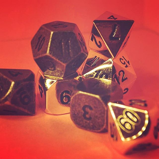 All that glitters is not #gold. This set is an exception. . . . . . . . .  #dice #geek #dnd #fantasy #critters #instalove #photography #photographylovers #photo #camera #art #dicelove #dicecollector #diceaddict #beautiful #smile #d10again #picoftheday #photooftheday #criticalrole #rpg #rpggamer #tabletopgames #instalike #ttrpg #wotc #boradgame #ipreview via @preview.app