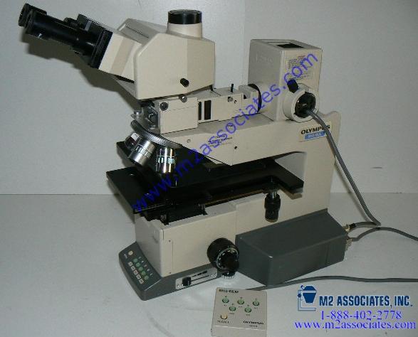 Olympus BH3 - 8 inch microscope with Ergo Tilting Trinoc