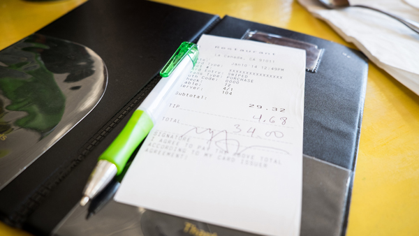 Paper receipts days are numbered.
