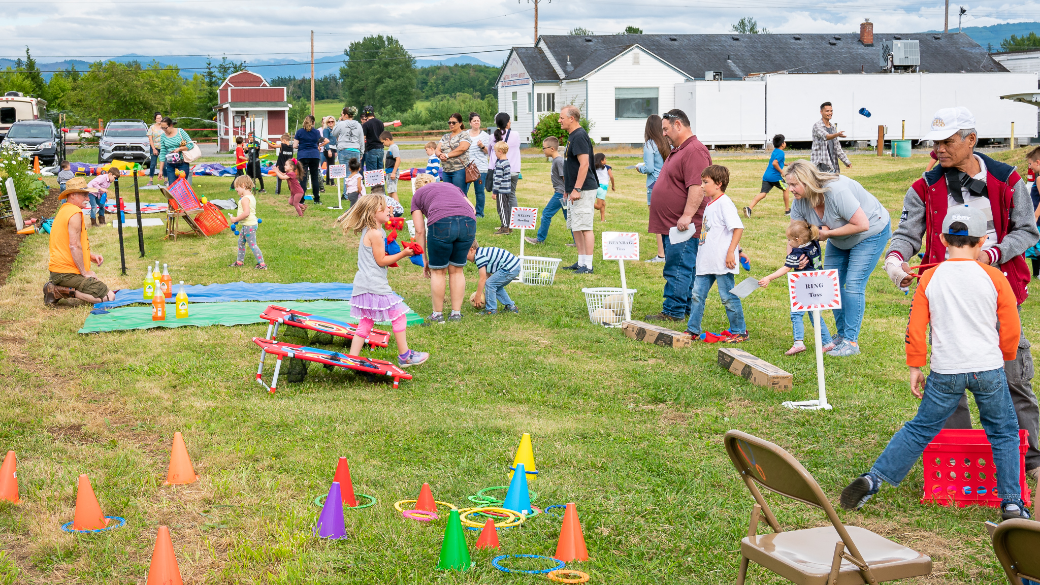 Children's ministry helped put on our second annual CTK Farm open house, Farmingham as we like to call it. They provided volunteers and lots of fun games for families to try.