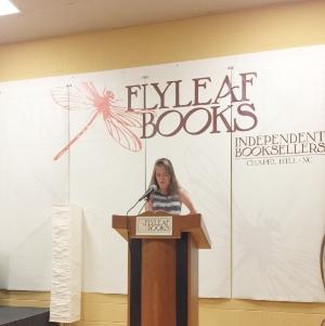 Me at the podium!