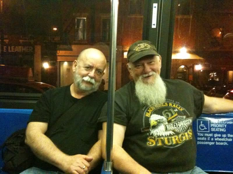 Ed Hunt and Jeff Storer, co-founders of Manbites Dog Theater