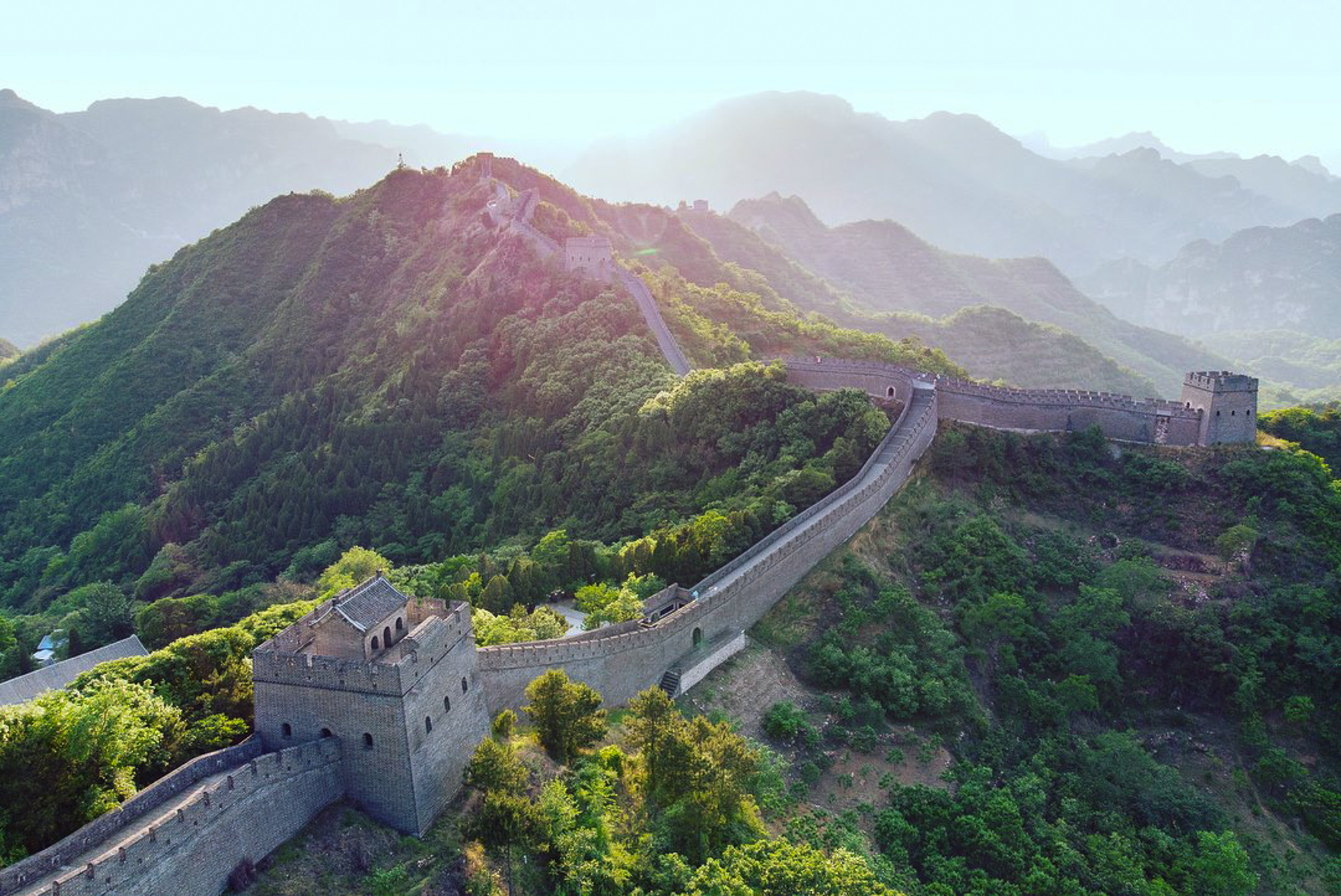 The Great Wall Marathon, China, marathon number 18 out of 52. Photo taken by Kip Patterson.