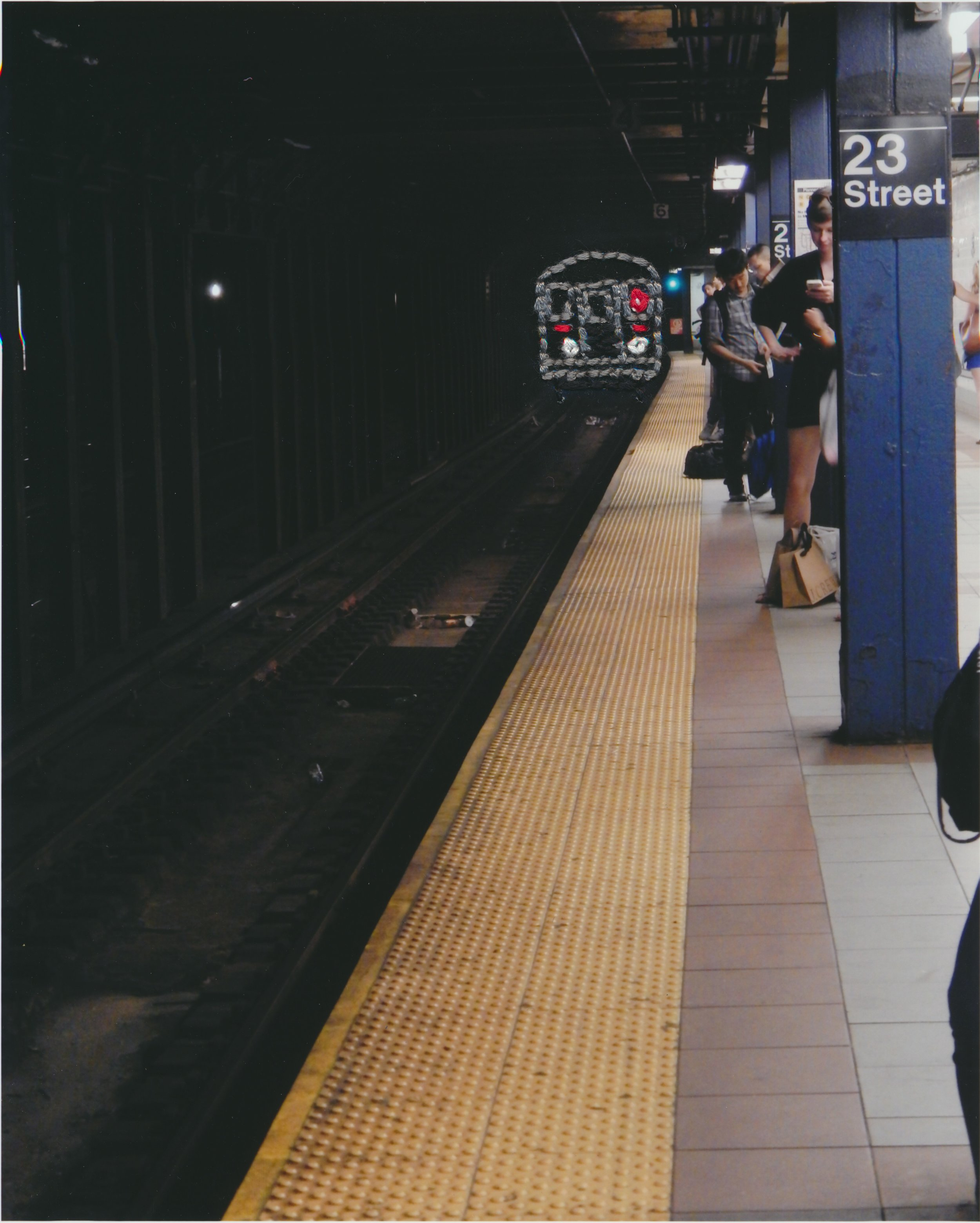 23rd street subway