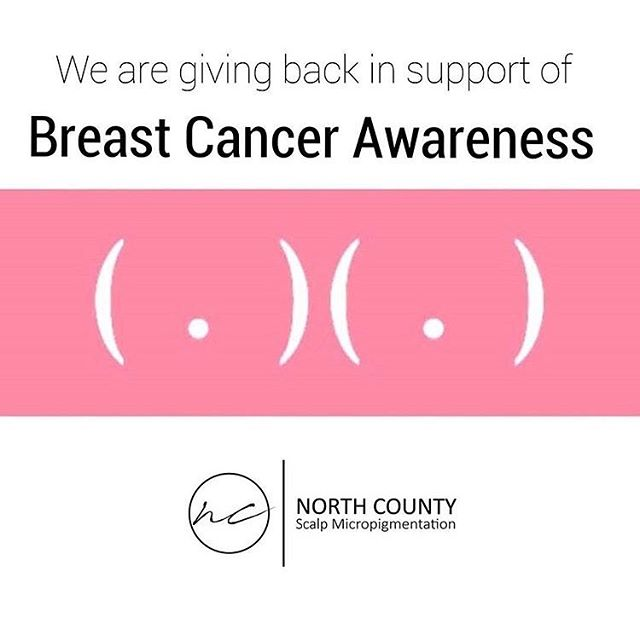 ✨Attention Survivors✨ Here at North County our main priority is to help as many people as we can walk away with confidence! If you, or someone you know, is ✨DONE WITH TREATMENT✨ And have been left with thinner hair than you once had, please contact us. In honor of you, North County will be giving all survivors 25% off any density package through the month of October!