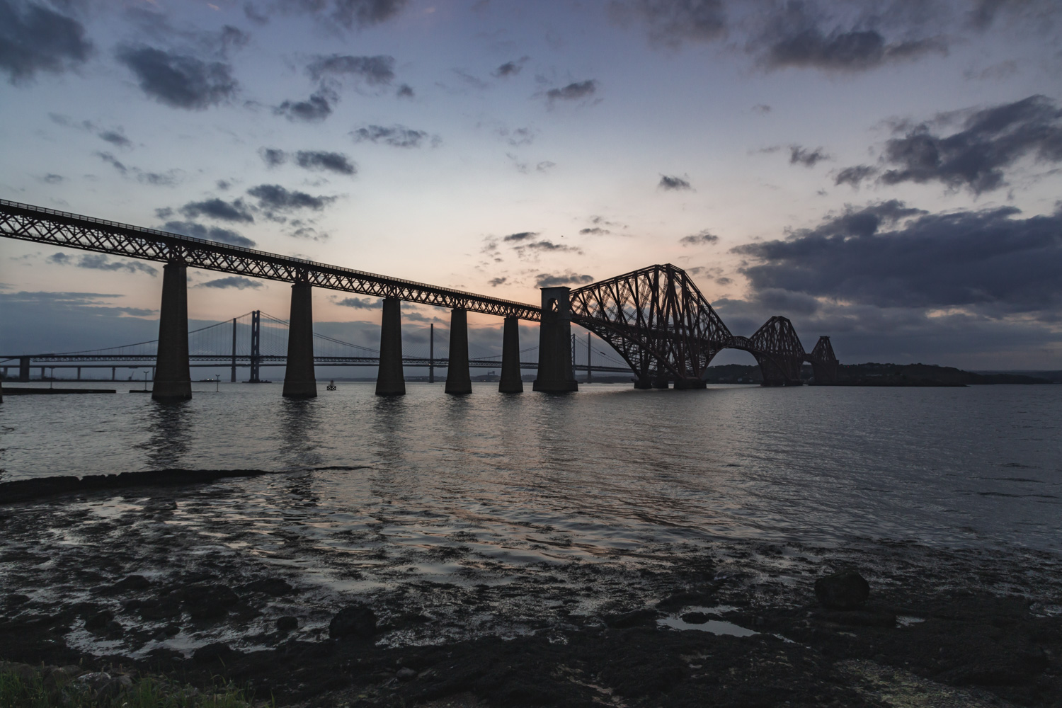 Welcome to South Queensferry! This site is just outside Edinburgh.
