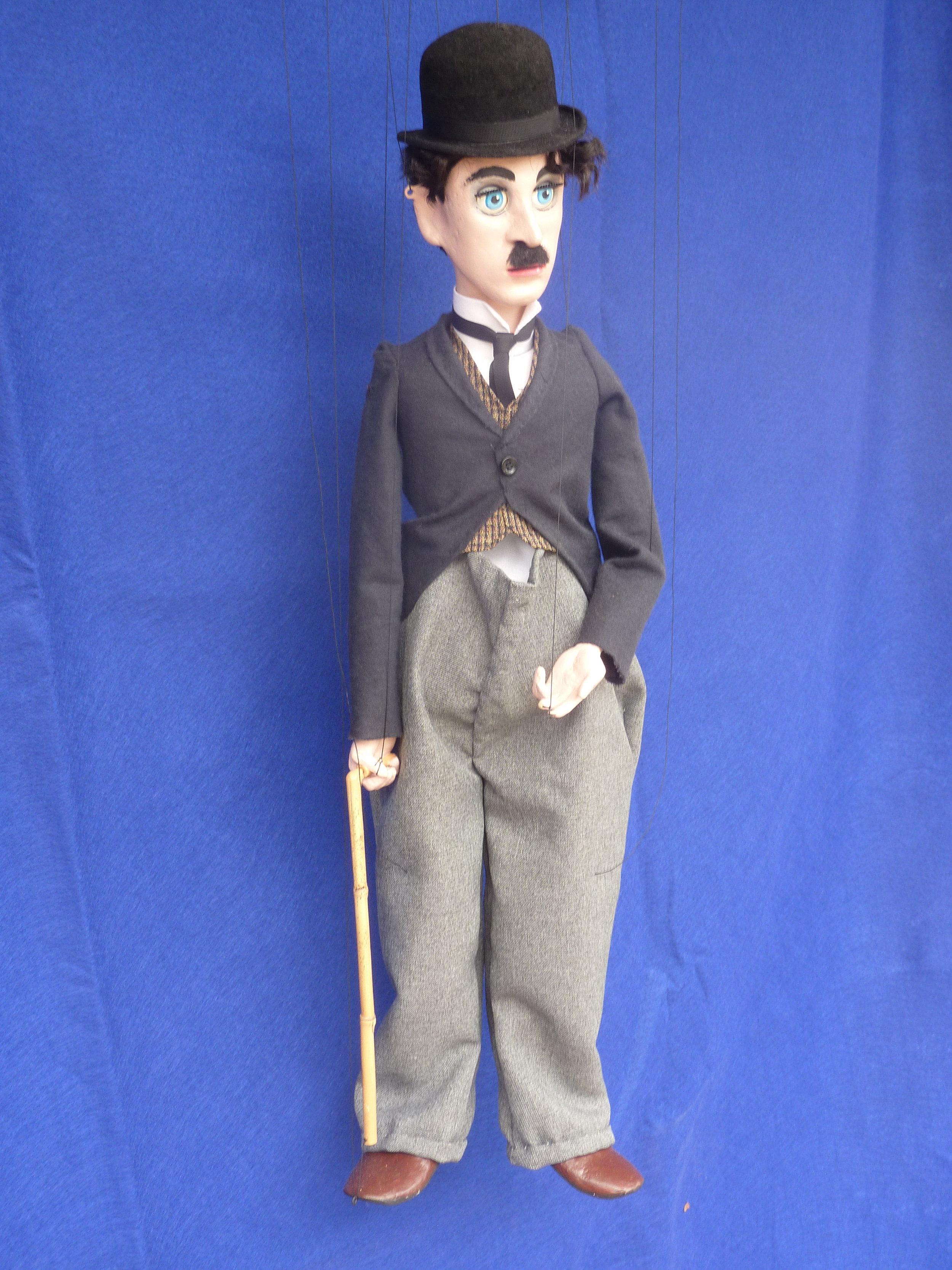 Pomeroy Puppets #18 Charlie Chaplin.JPG