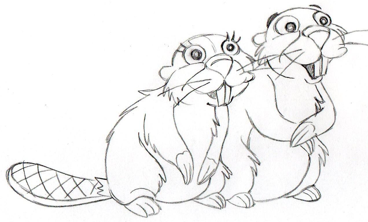 Simpson's Movie #4 Beavers #B21.jpg