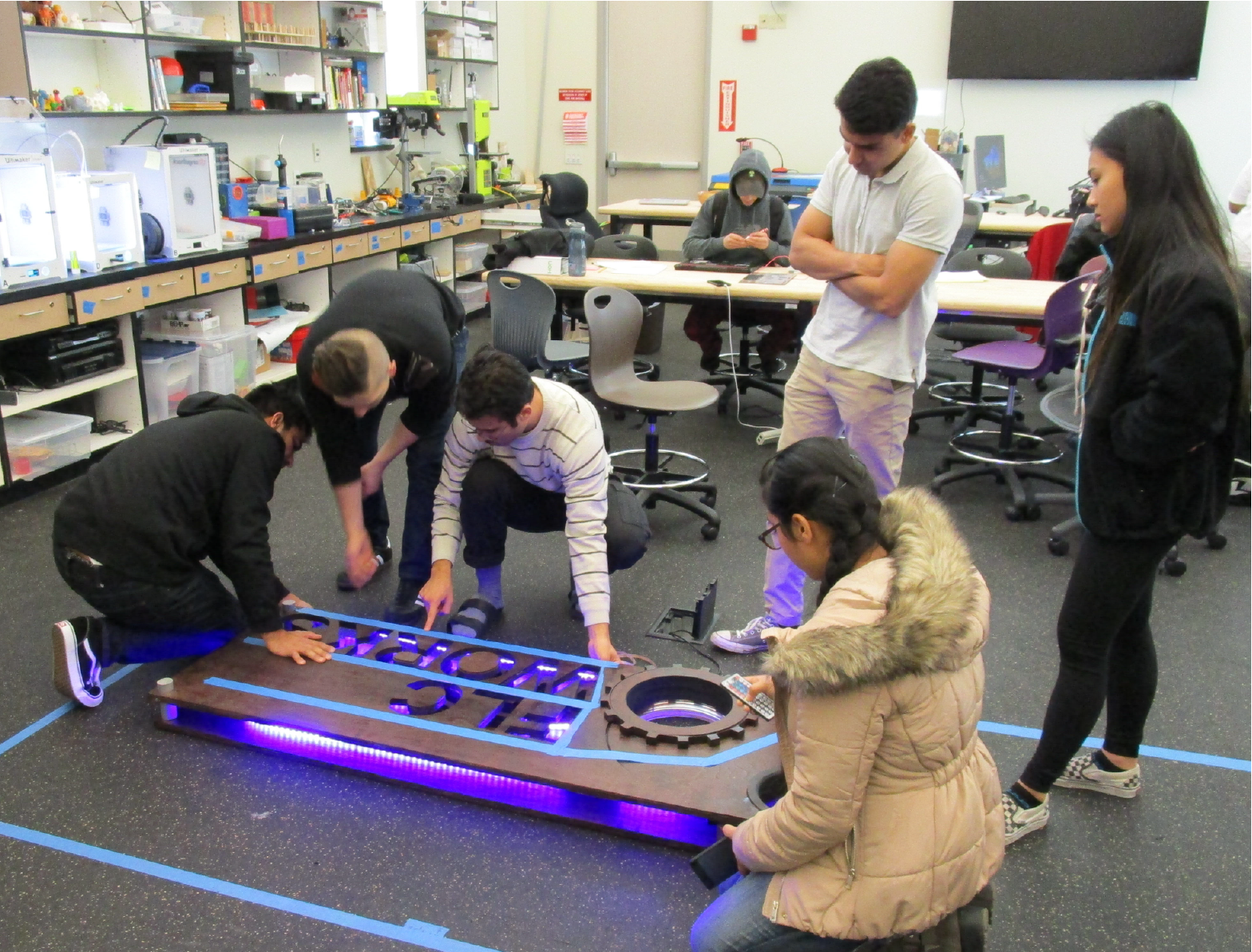 Makerspace Internships - Makerspace Internships are a way for FLC students to use and continue developing skills learned in the Folsom Lake College Innovation Center.