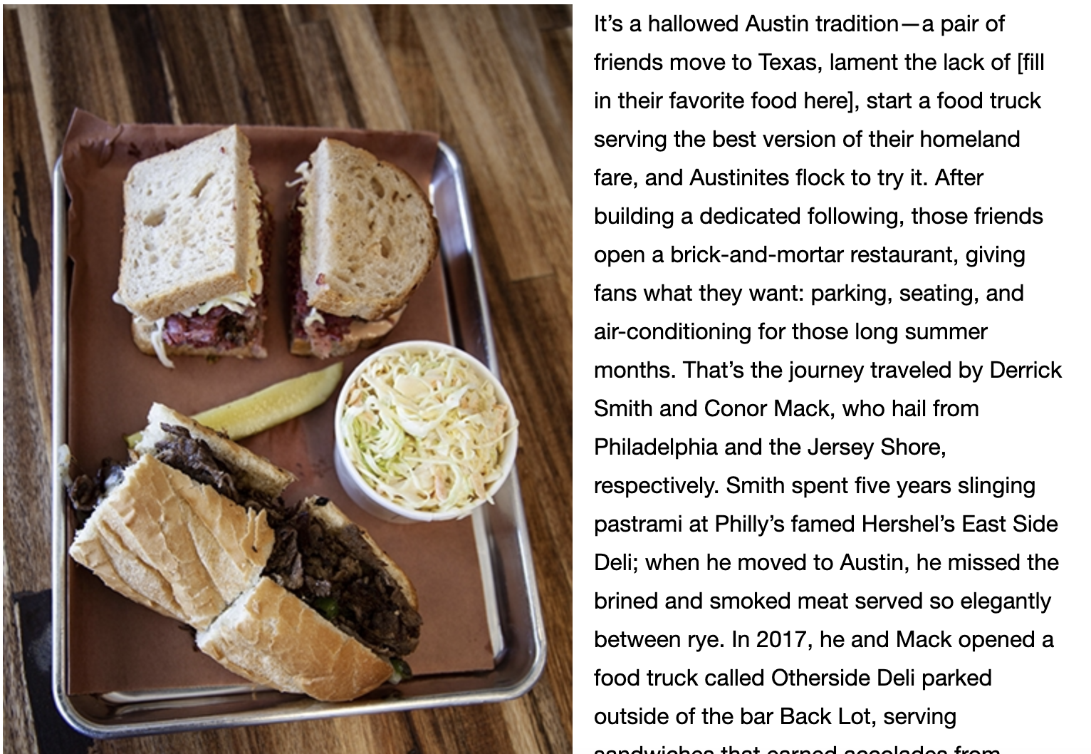 review - Austin Monthly