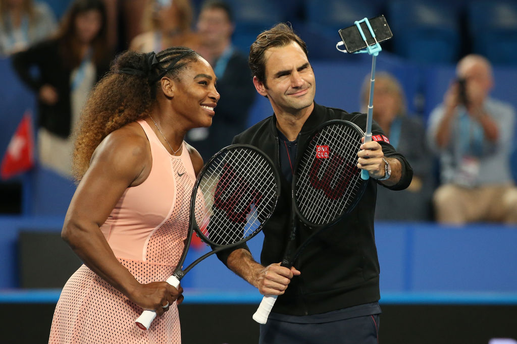 This year's Cup saw Roger Federer and Serena Williams play against each other for the first time