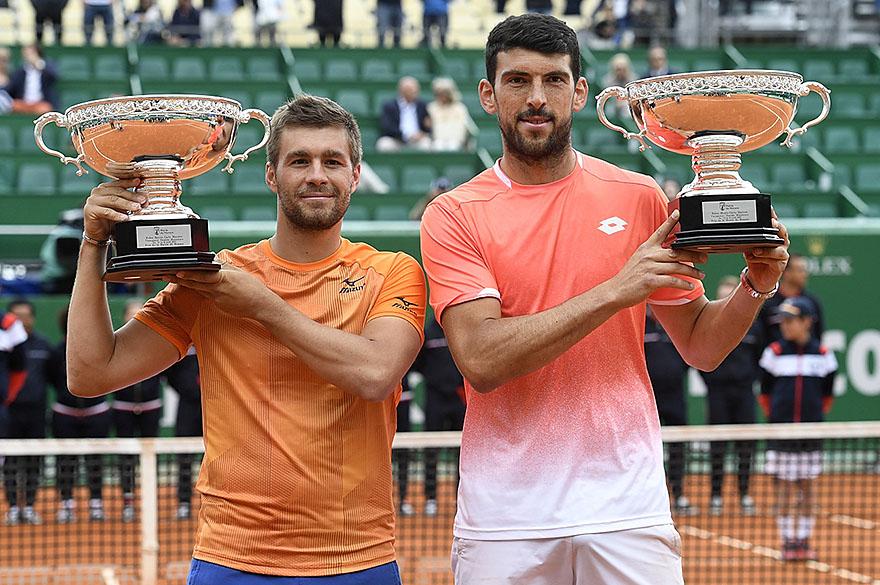 Nikola Mektic and Franko Skugor won the Men's Doubles Championships