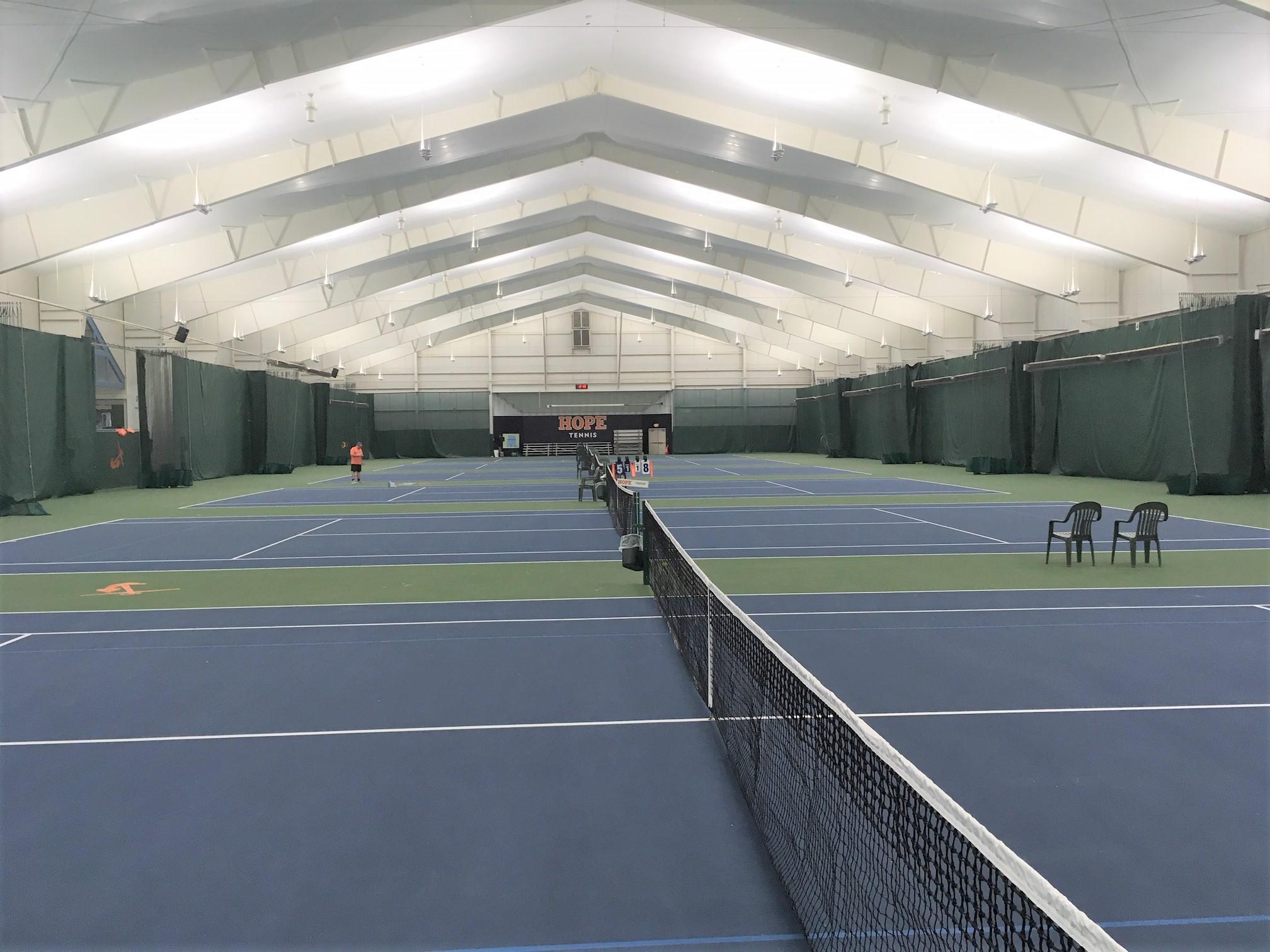 The DeWitt Tennis Center at Hope College