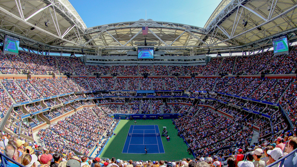 The 2019 US Open begins on Monday, August 26