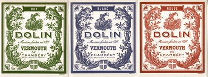 Dry Dolin Vermouth/   Sweet White Dolin Vermouth / Red Dolin Vermouth