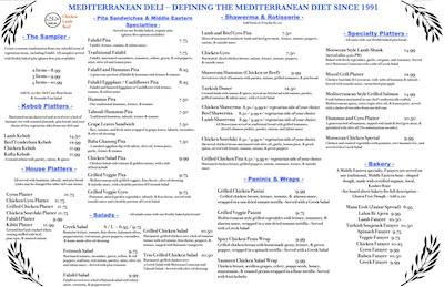 View PDF menu
