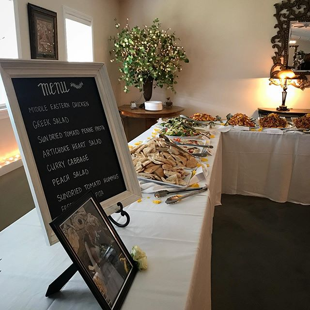 We had a wonderful time catering a wedding reception in Burlington @ Walker Farm's country venue!  #catering #service #mediterranean #deli #cuisine #vegetarian #vegan #glutenfree #fresh #summer #weddings