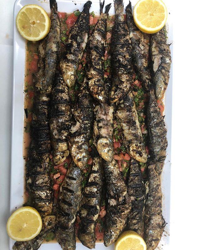 Grilled fresh Sardines  #mediterranean deli #chapel hill #sardines