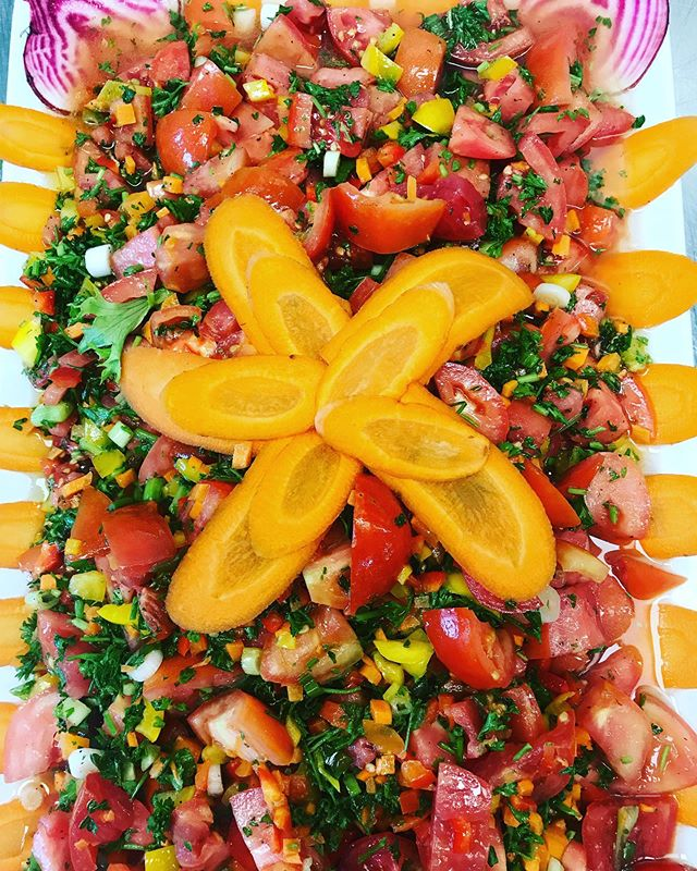 Jerusalem Salad. -  #salad #mediterraneandeli #happy #delicious #fresheats #restaurant