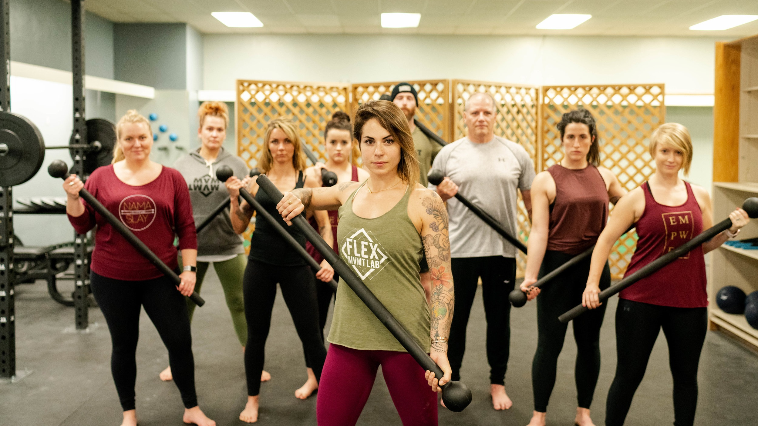 Steel Mace - Tap into your inner warrior with this fun class that combines modern athletics with ancient wisdom. We'll cover the basics of use and flow, developing a workout that mimics and supports the movement patterns we use in everyday life.Quickly becoming one of the most popular tools for functional fitness.