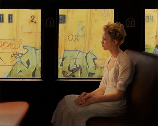 Golden | 24x36 Oil on Panel | SOLD