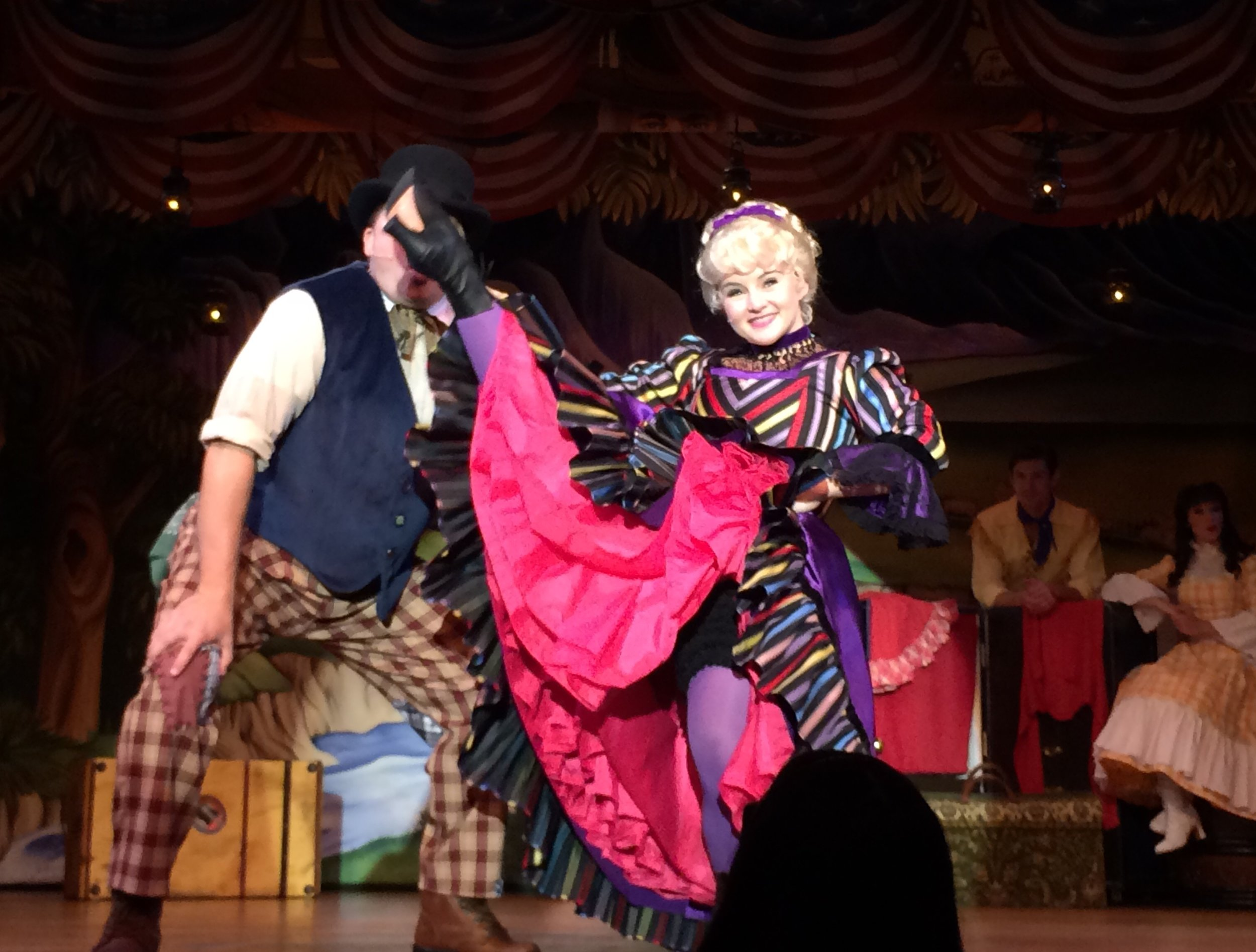 Claire DeLune,  The Hoop Dee Doo Revue , Walt Disney World