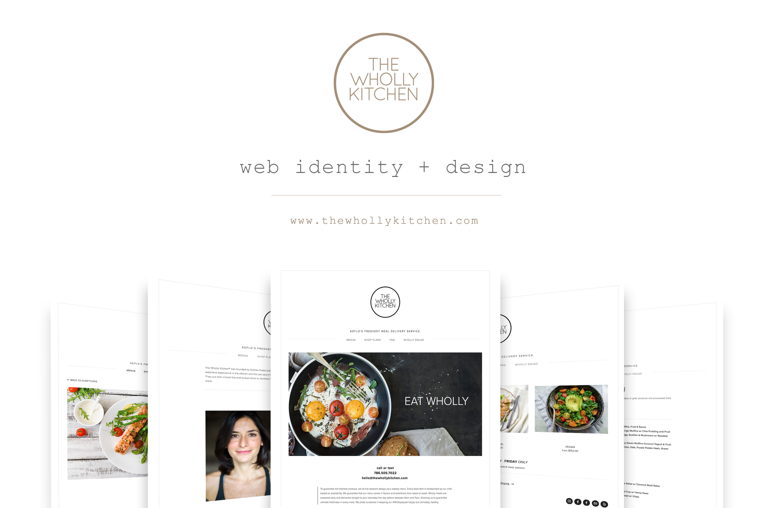 Web Design |   thewhollykitchen.com