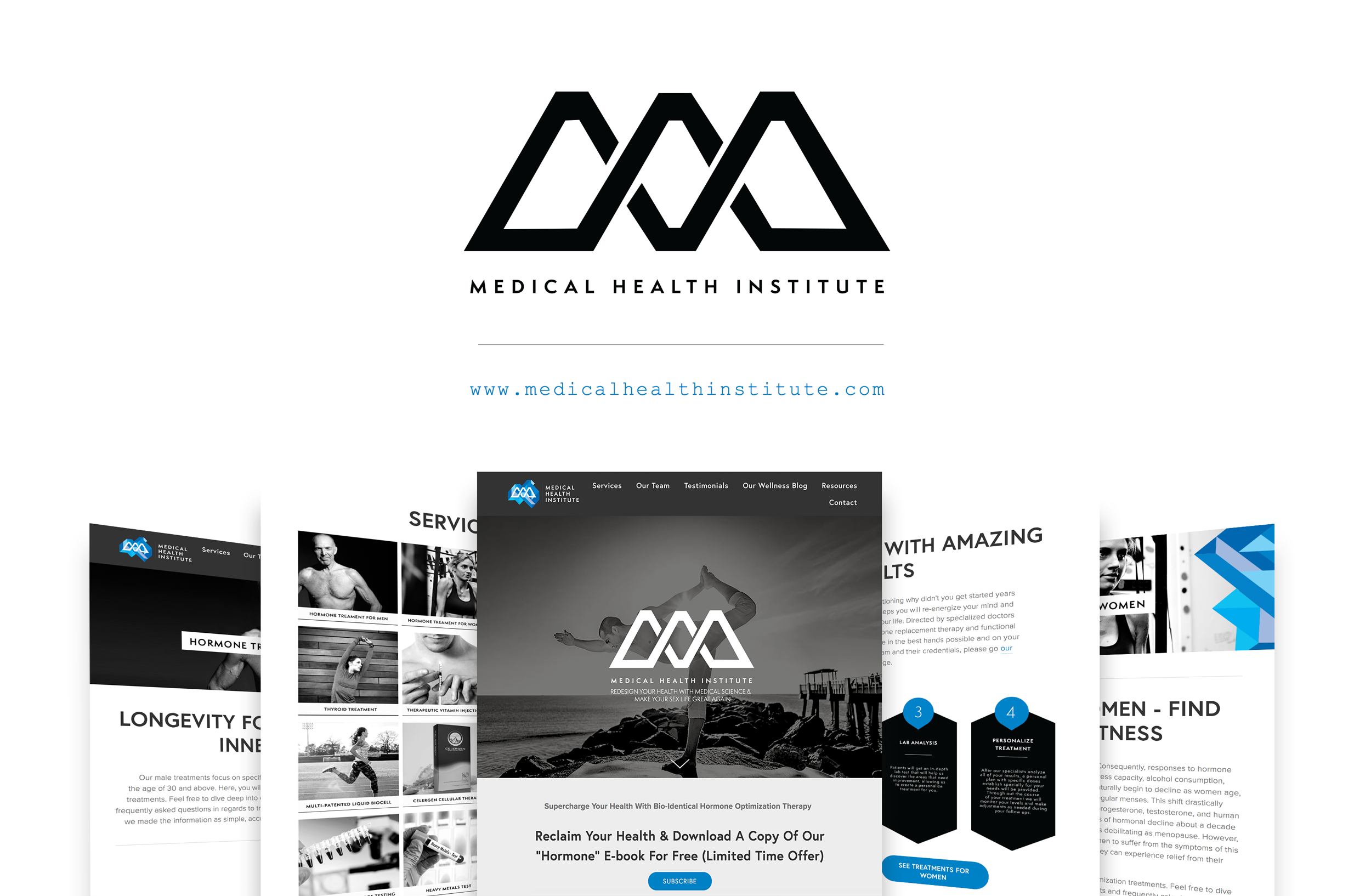 Web Design + Management |   medicalhealthinstitute.com