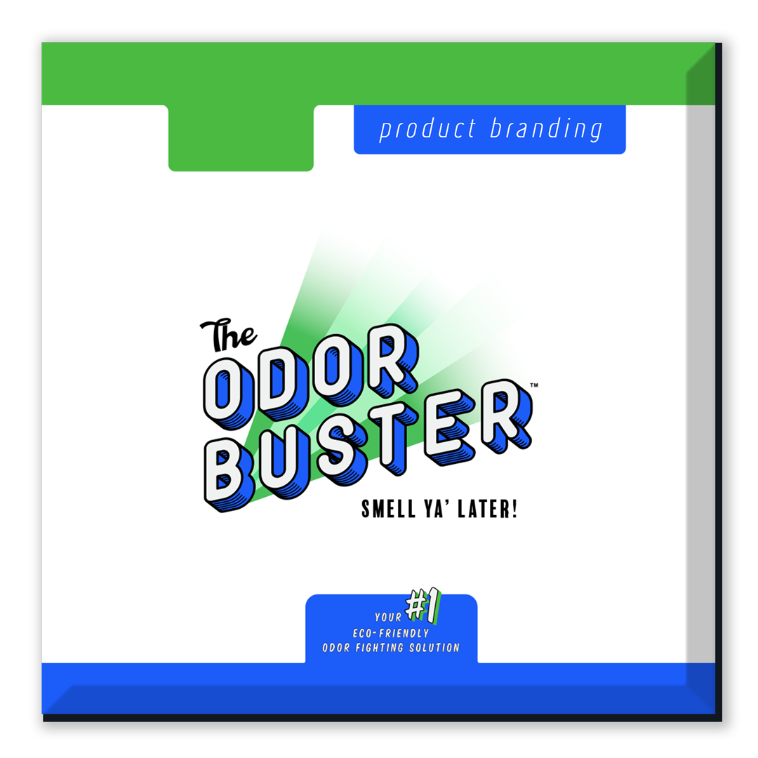 The Odor Buster | Product Branding