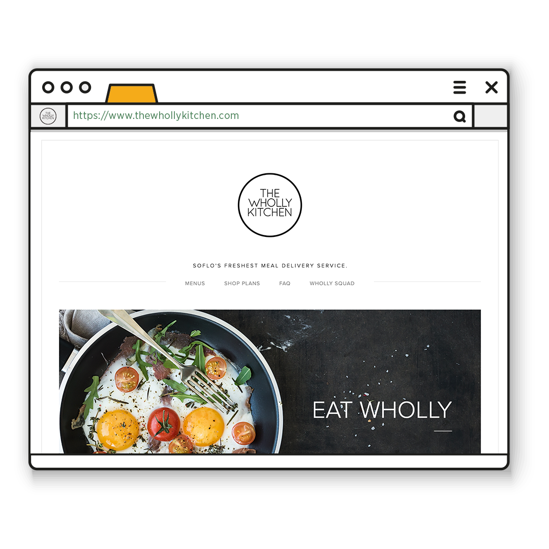 The Wholly Kitchen: Meal Delivery Portal