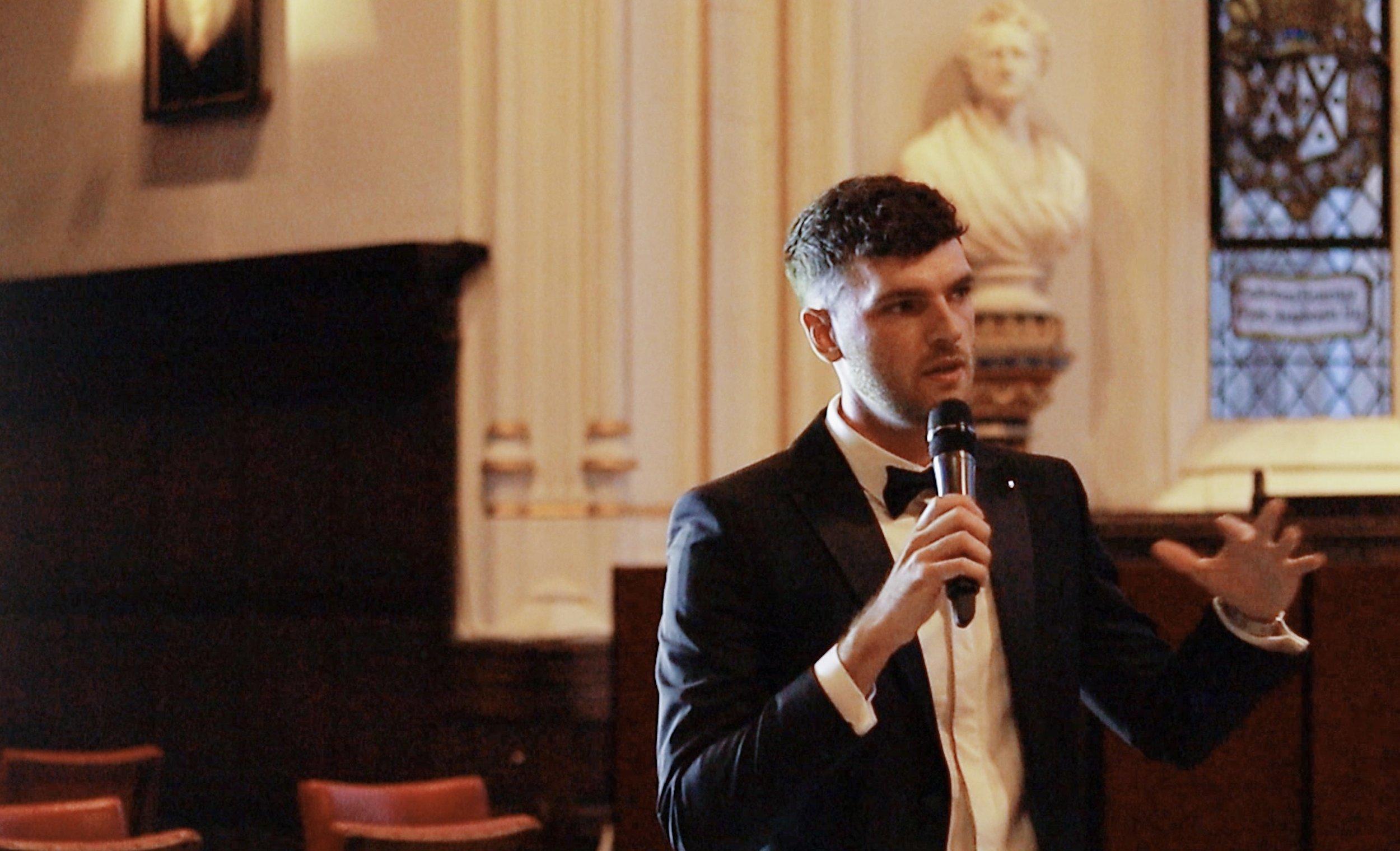 Talk at St Johns College, Cambridge University