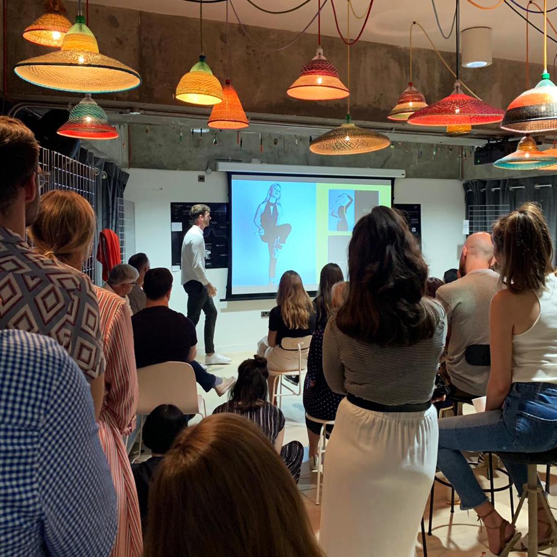 Talk at Ted Baker HQ, London