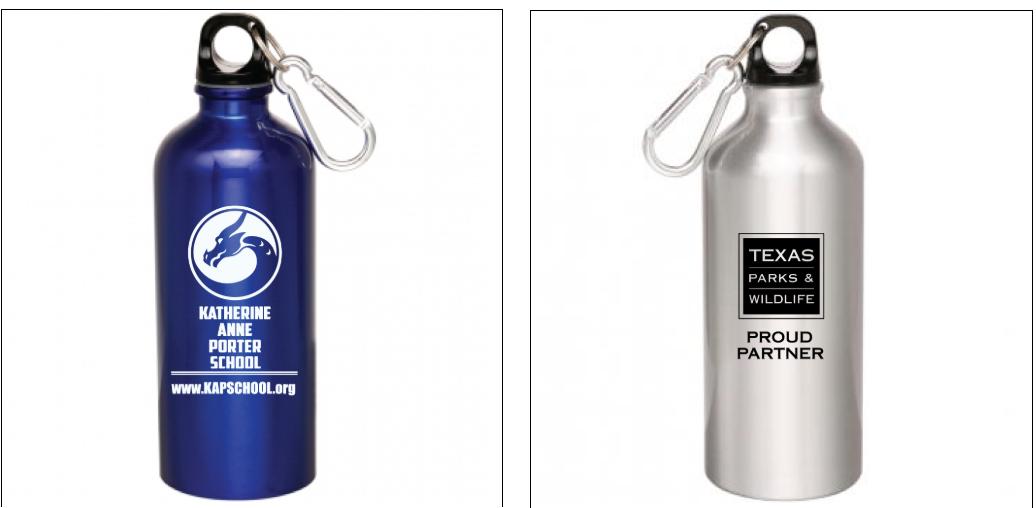 Water bottles: $5.00