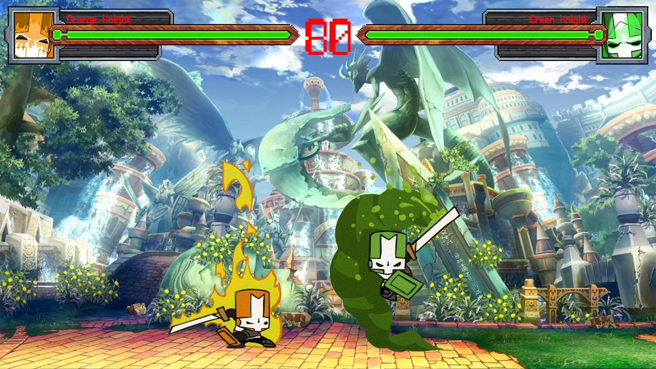 Castle Crashers Arena! - Orange Knight V. Green Knight (1).jpg