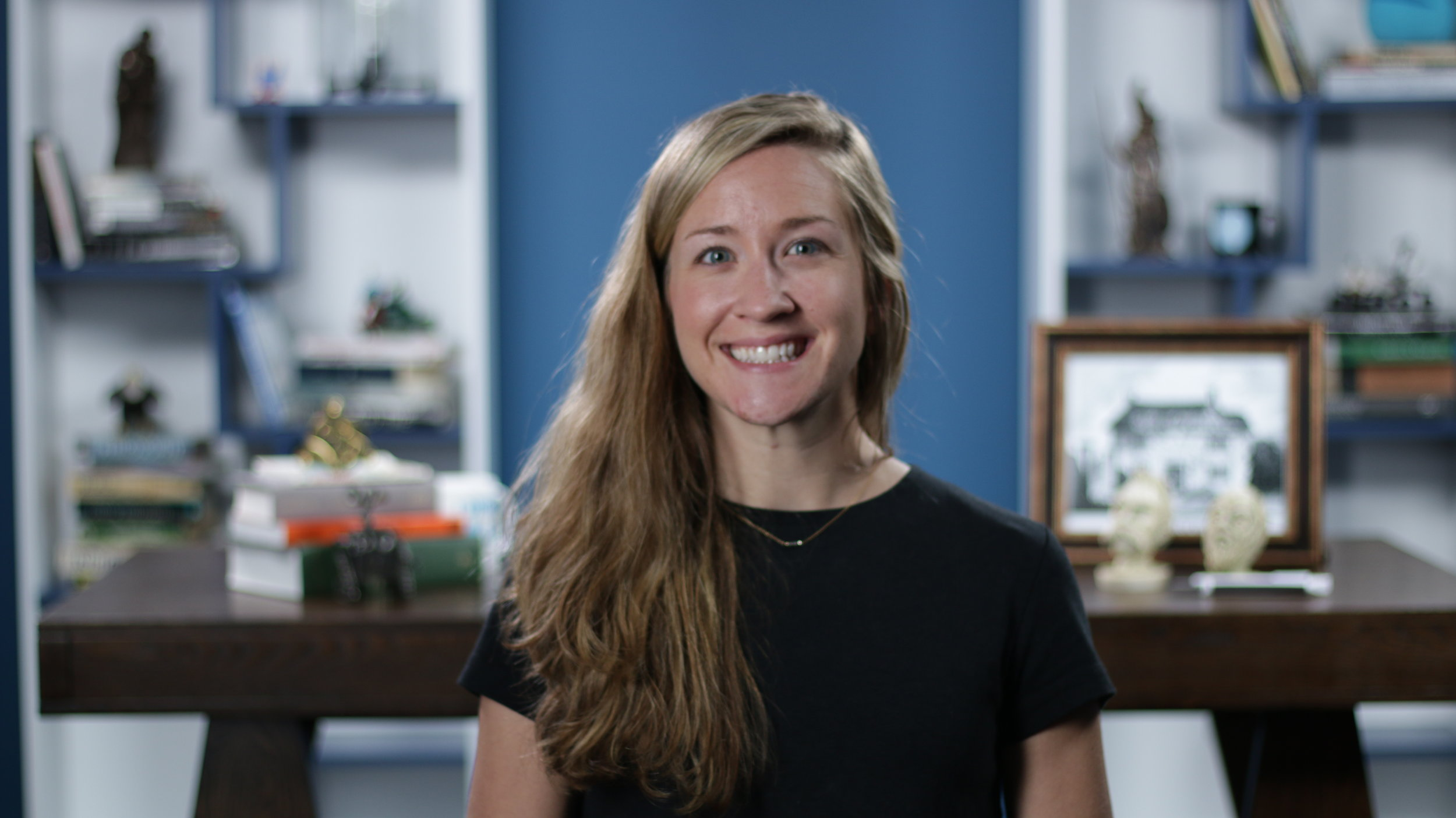 Julie Walsh Chief Operating Officer  Julie spends her time asking Hank and John what they want to do. She also just waters her plant and lurks around the office trying to make use of her Psychology degree. In her spare time, she enjoys running, hiking, random volunteering and other forms of Type II fun.