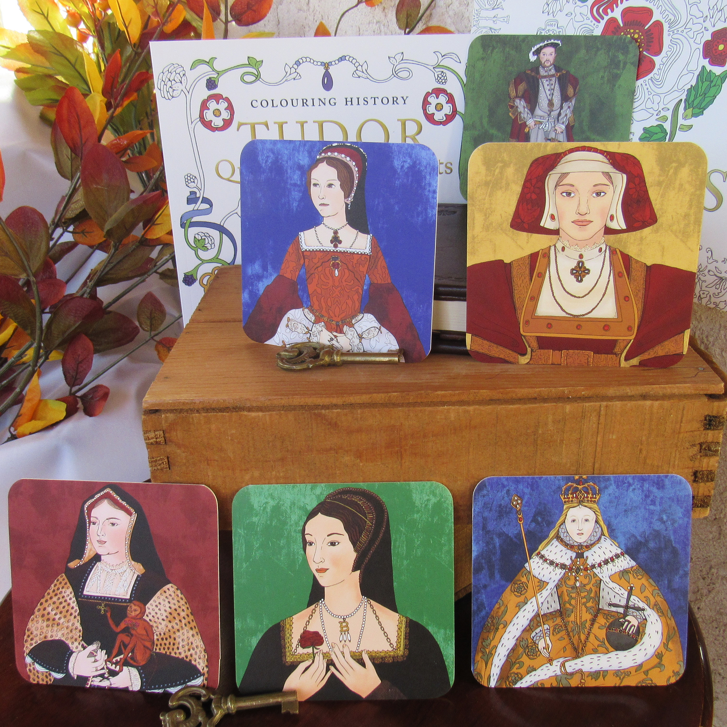 The Tudors Drink Coasters
