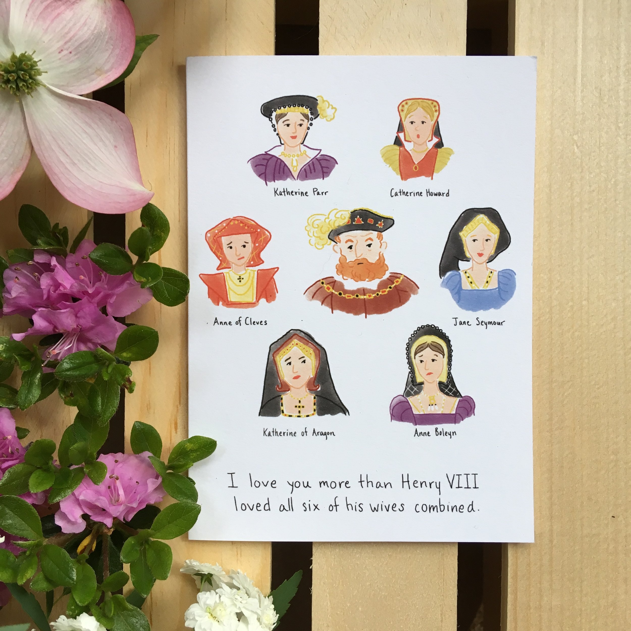 Henry VIII and his Wives Humor