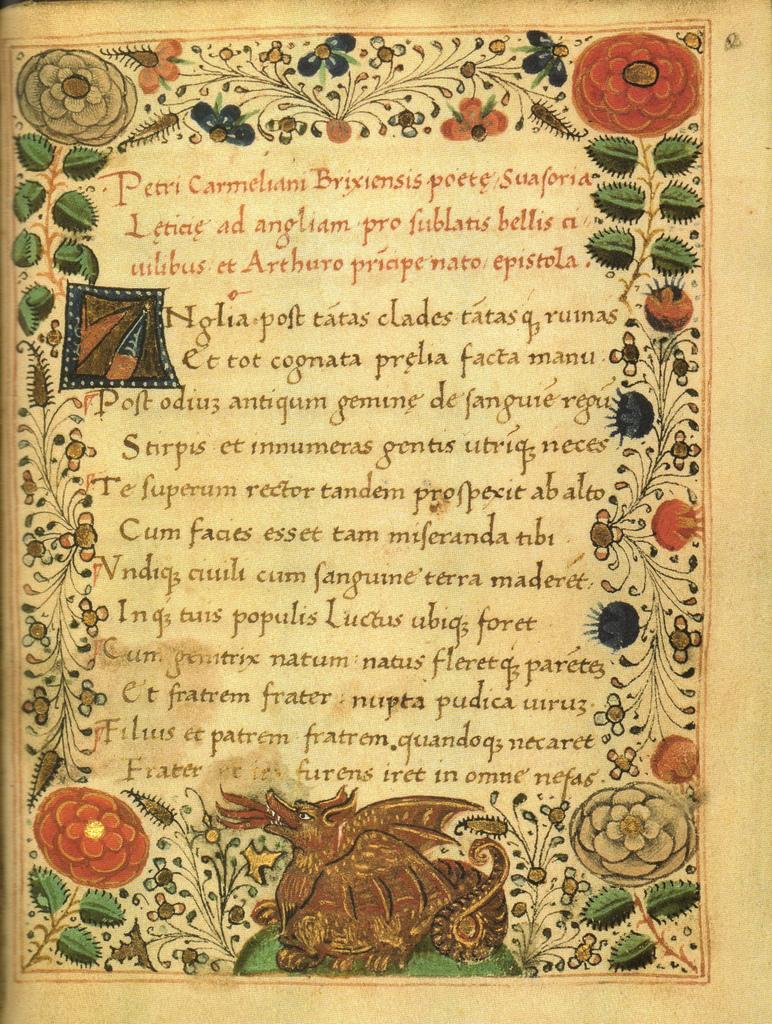 Prince Arthur Tudor Poem
