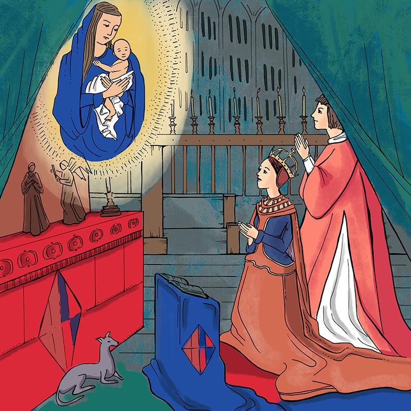 Margaret Tudor at Prayer