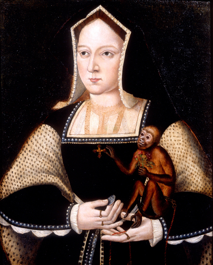 Portrait of Katherine of Aragon by an unknown artist, c. 1531