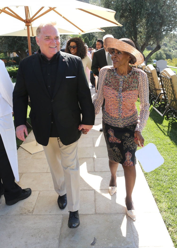 Tony Conway with Cicely Tyson