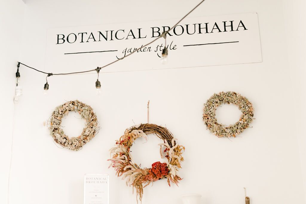 Botanical Brouhaha Garden Style