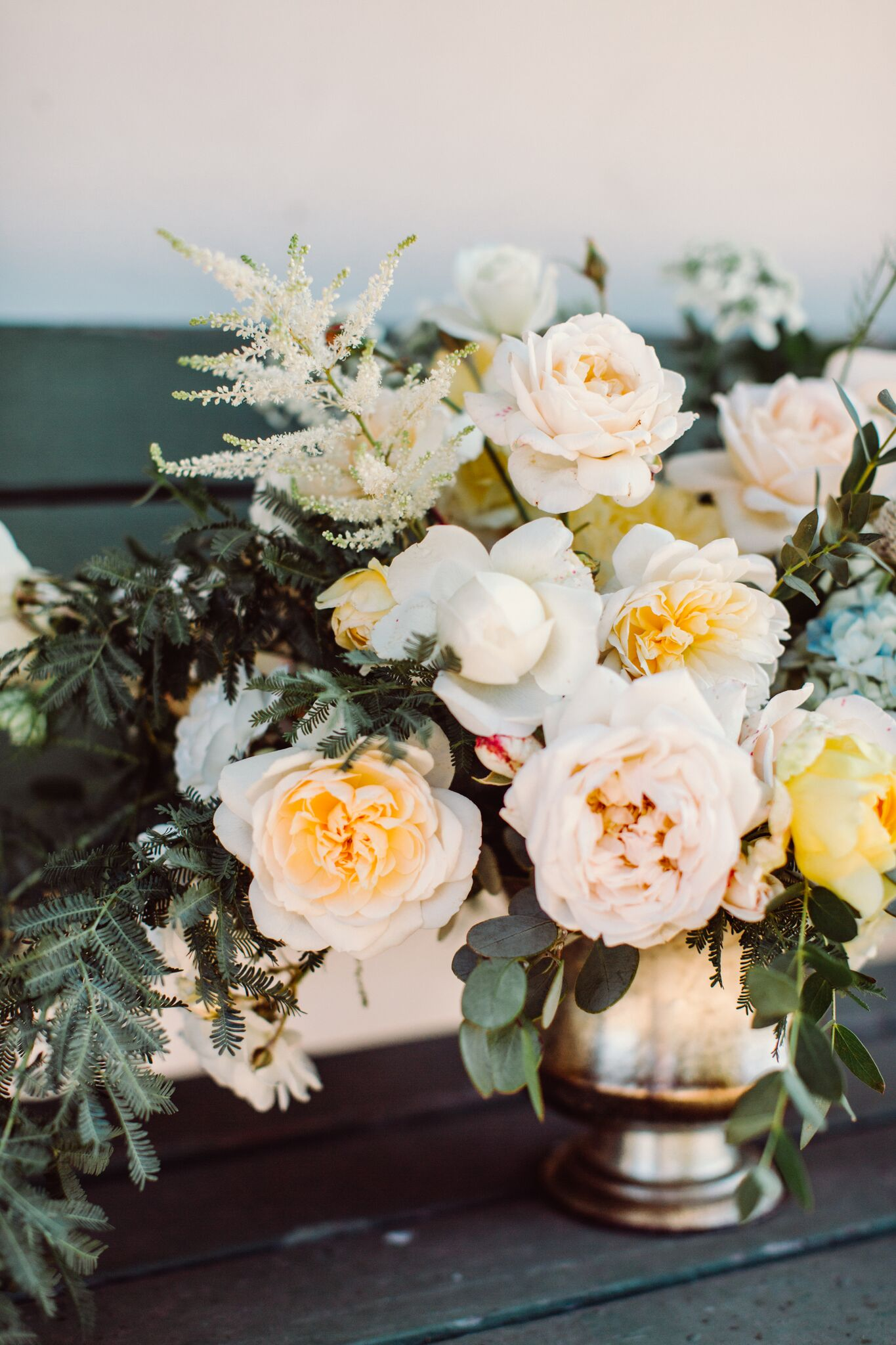 image by Jona Christina  florals by Open Road Florals