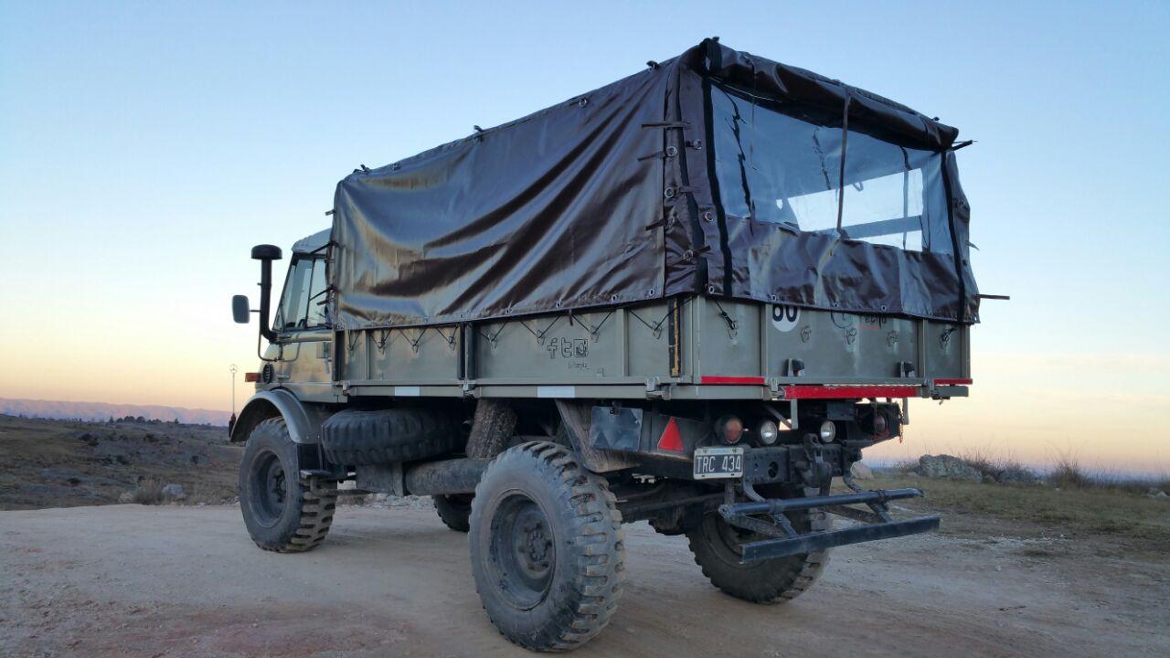 Lonas para camiones con estructura