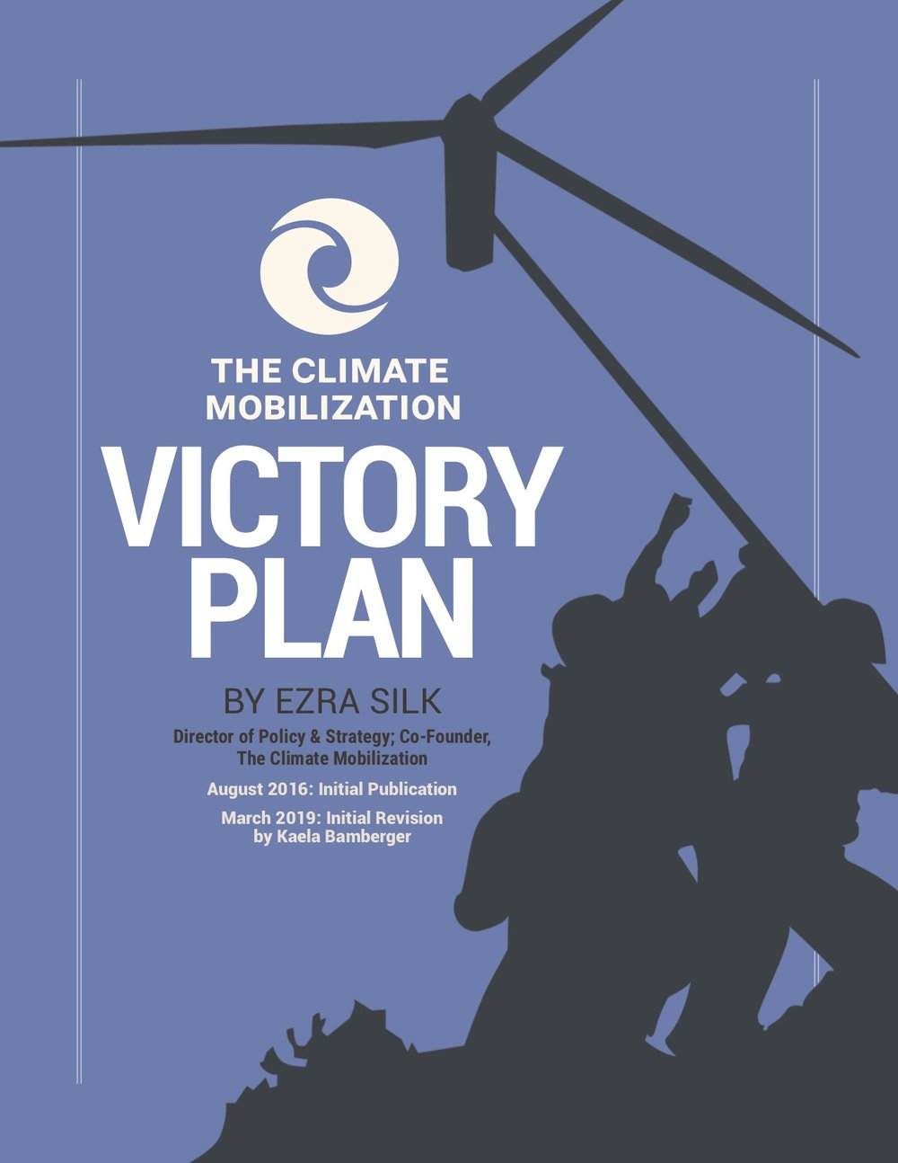 Read the full    Victory Plan    explaining how the U.S. could eliminate net greenhouse gas emissions at wartime speed, contribute to a global effort to restore a safe climate, and reverse ecological overshoot through massive WWII-scale mobilization.