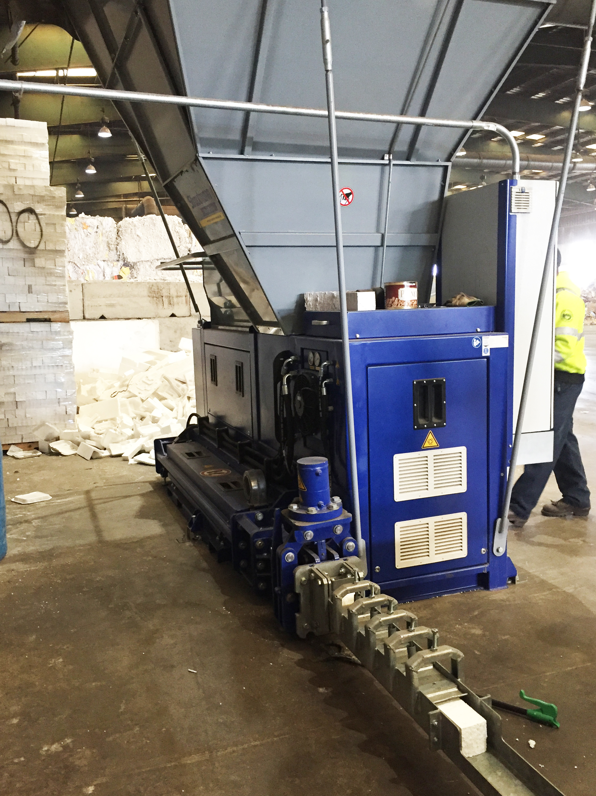 <p>Learn about foam recycling equipment</p>