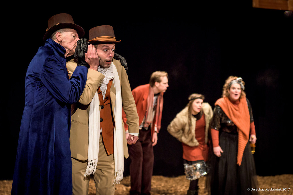 Zuiderpark theater- Scrooge
